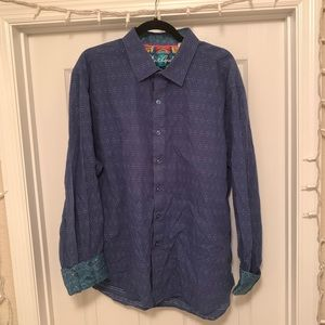 Robert Graham Long Sleeve Patterned Button Down✨